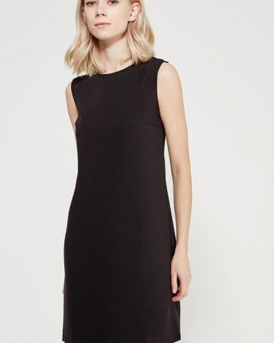 Черное платье осеннее A-a By Ksenia Avakyan