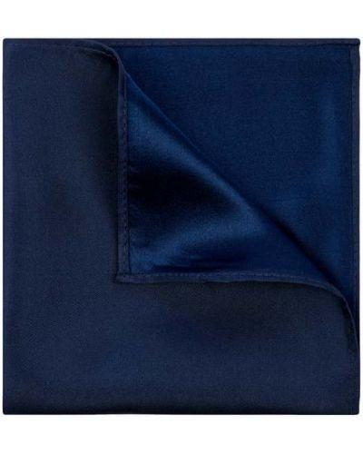 Jedwab niebieski chusteczka Monti