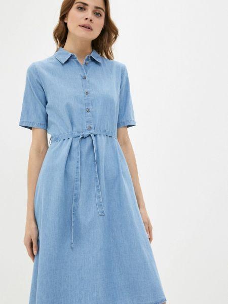 Джинсовое платье весеннее Jacqueline De Yong