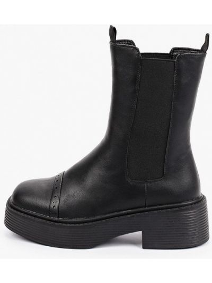 Черные ботинки осенние Keddo