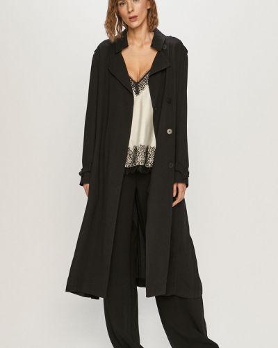 Klasyczna czarna kurtka z kapturem Dkny