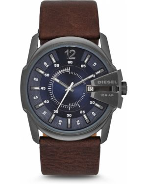 Zegarek ciemny srebrny Diesel