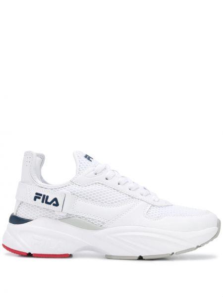 Кроссовки сетчатые с логотипом Fila