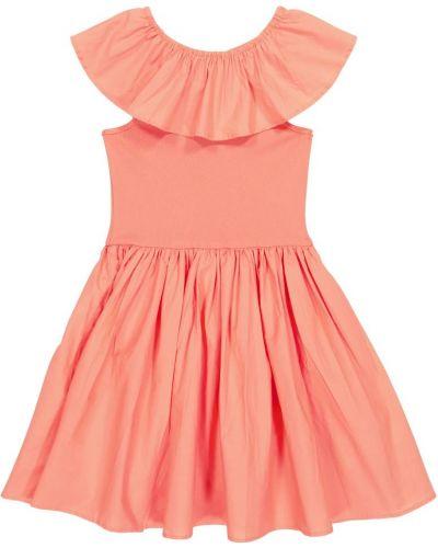 Хлопковое платье - розовое Molo