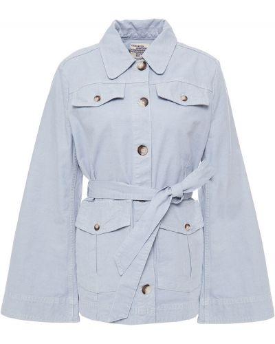 Ватная синяя куртка с поясом Baum Und Pferdgarten