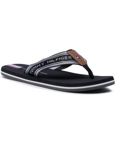 Czarny plaża sandały Tommy Hilfiger