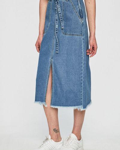 Юбка миди джинсовая карандаш Jacqueline De Yong