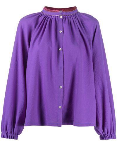 Свободная блузка с воротником свободного кроя Forte Forte