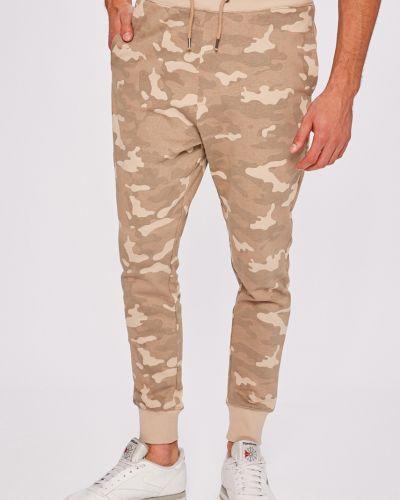 Зауженные брюки на резинке с карманами Brave Soul