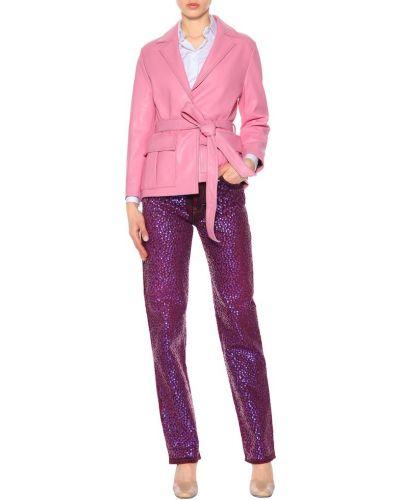 Codziennie fioletowy bawełna bawełna jeansy Acne Studios