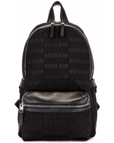 Plecak skórzany - czarny Ksubi