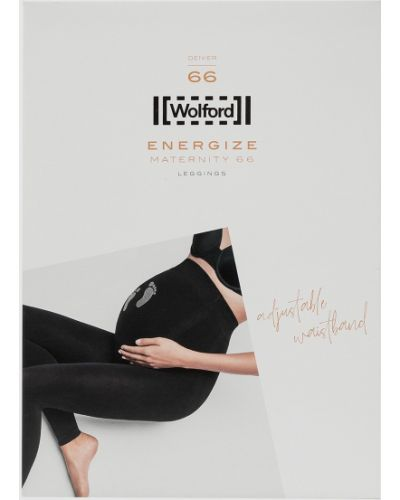 Черные леггинсы для беременных Wolford