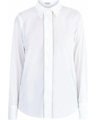 Блузка с цепочкой Brunello Cucinelli