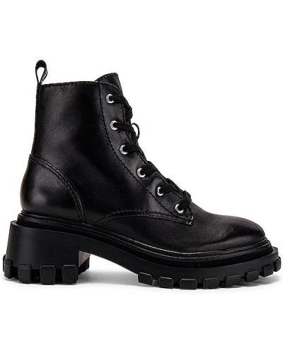 Черные полуботинки на шнуровке Schutz
