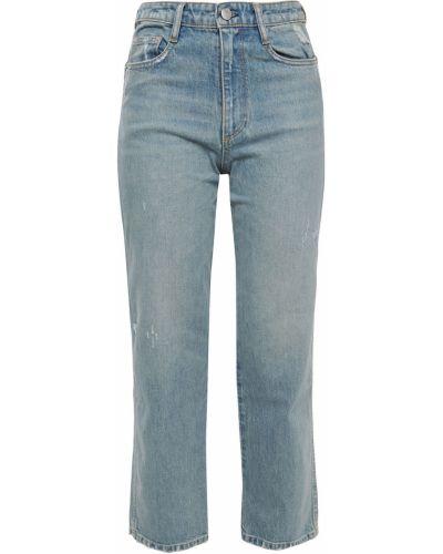 Mom jeans bawełniane - niebieskie Simon Miller