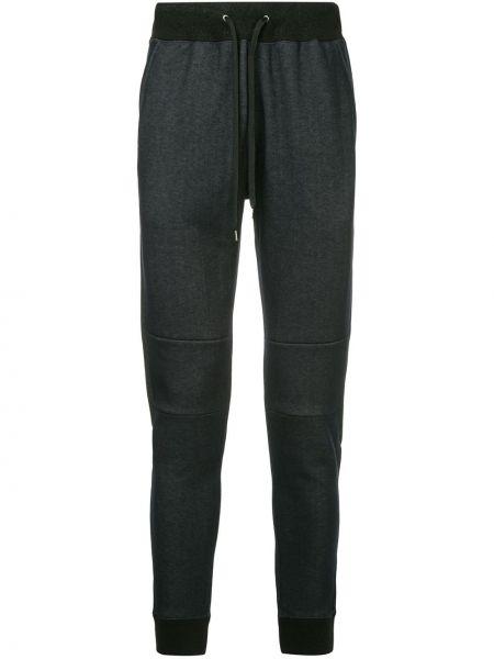 Спортивные синие спортивные брюки с карманами на шнурках Loveless
