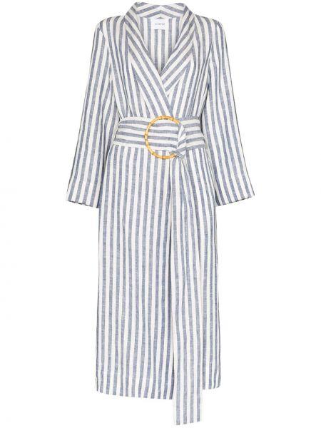 Платье макси с поясом с лацканами Sleeper