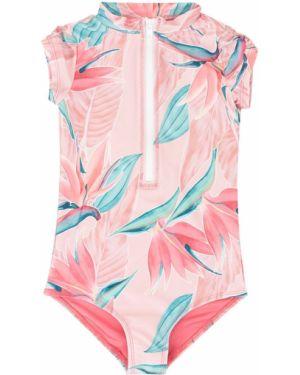 Розовый купальник на молнии Duskii Girl