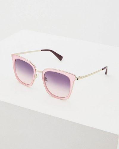 Солнцезащитные очки прямоугольные квадратные Love Moschino