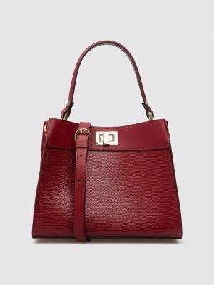 Кожаная сумка - бордовая Gianni Notaro