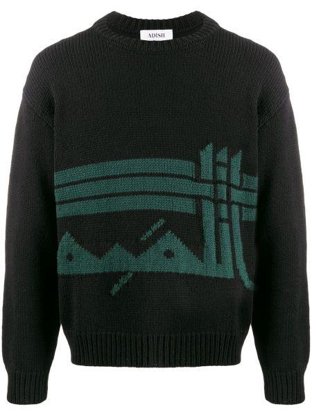 Черный свитер Adish