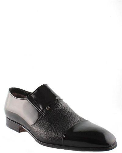 Кожаные туфли - черные Moreschi