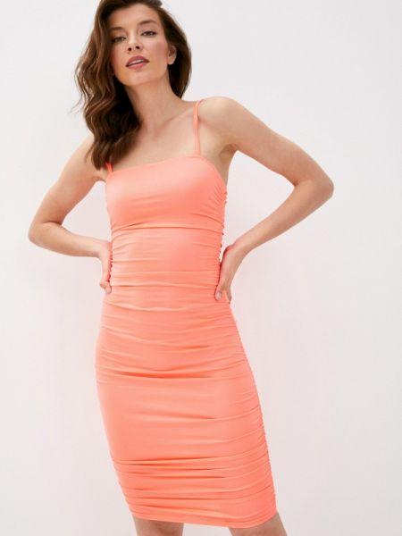 Платье коралловый платье-майка Vagi