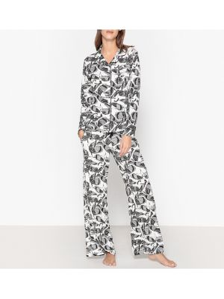 Пижама с брюками на пуговицах с карманами Hechter Studio