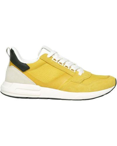 Żółte tenisówki Marc O'polo