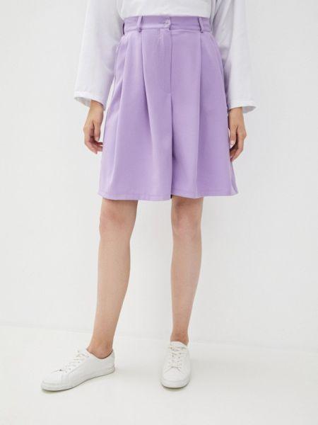 Повседневные фиолетовые шорты Malaeva