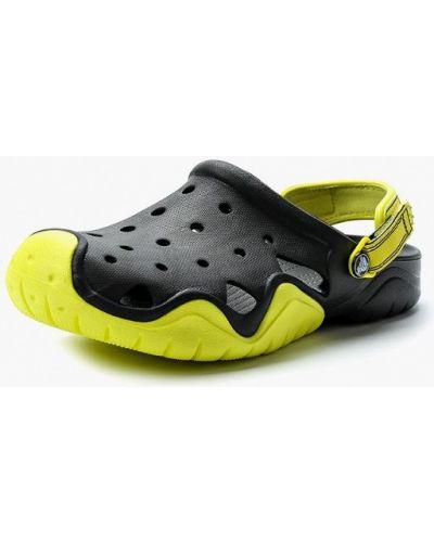Черное сабо Crocs