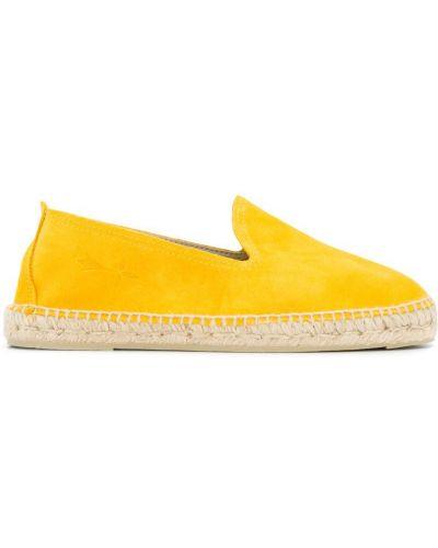 Эспадрильи желтый Manebi