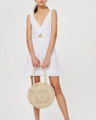 Белое платье Topshop