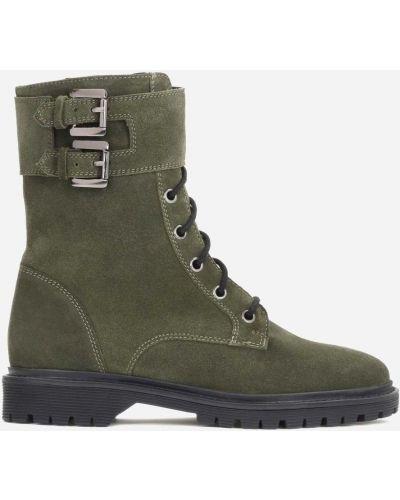Ботинки - зеленые Kazar