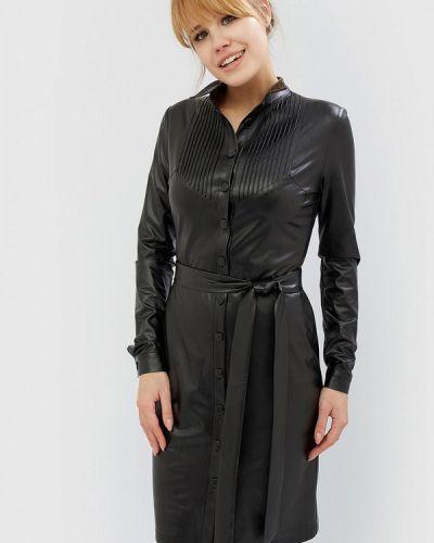 Черное платье весеннее Cardo