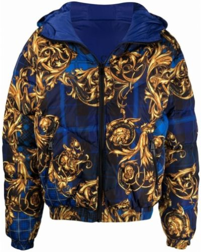 Kurtka - niebieska Versace Jeans Couture