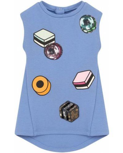 Платье из вискозы без рукавов Marc Jacobs