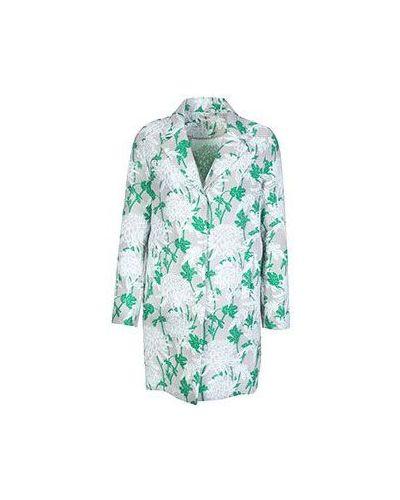 Зеленый плащ весенний P.a.r.o.s.h.