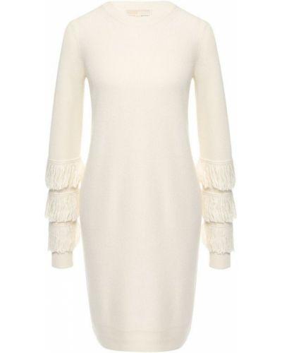Платье с бахромой шерстяное Michael Michael Kors