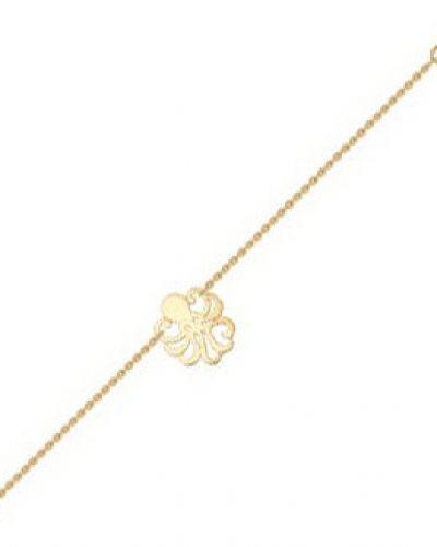 Золотой браслет с подвесками из золота Sokolov
