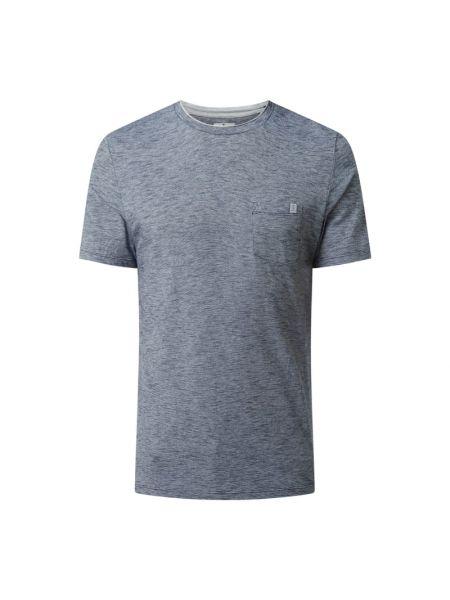 Niebieska koszulka w paski Tom Tailor