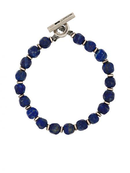 Niebieska bransoletka srebrna M. Cohen