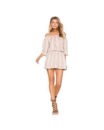 Платье с поясом с вышивкой в стиле бохо Tularosa