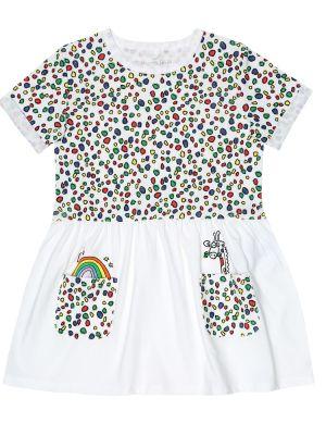 Sukienka biały Stella Mccartney Kids