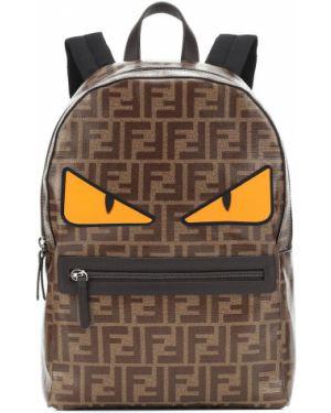 Plecak mało brązowy Fendi Kids