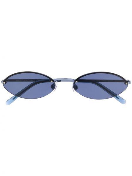 Прямые муслиновые солнцезащитные очки хаки Marc Jacobs Eyewear