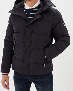 Теплая черная утепленная куртка Tommy Hilfiger