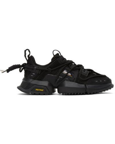 Замшевые белые кроссовки с перфорацией на каблуке Li-ning