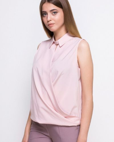 Блузка осенняя розовый Zubrytskaya