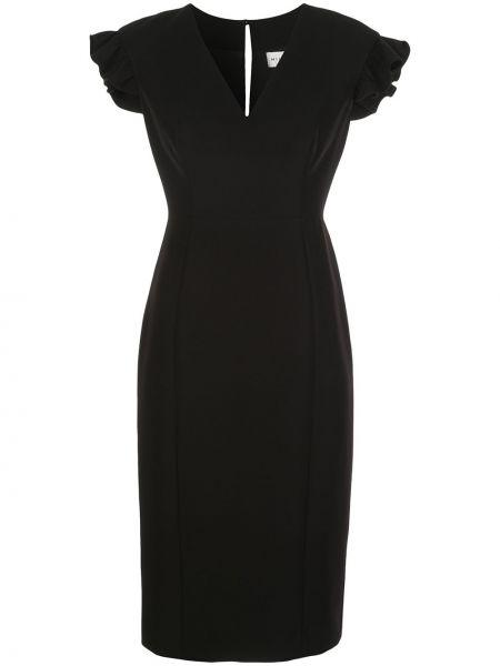 Платье с V-образным вырезом на молнии Milly